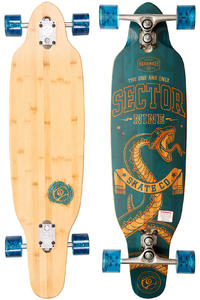 Sector 9 Striker 36.5&quot; (92,7cm) Complete-Longboard (blue)