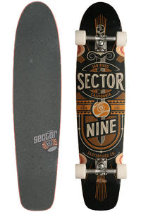 "Sector 9 Cloud 9 40"" (101,6cm) Complete-Longboard (black)"