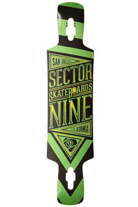 Sector 9 Slingshot 40.5&quot; (102,9cm) Longboard Deck (green)