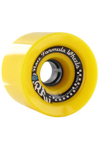 Sector 9 Race 72mm 78a Wheel 4er Pack  (yellow)