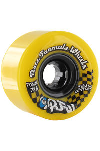 Sector 9 Race 70mm 78a Rollen 4er Pack  (yellow)