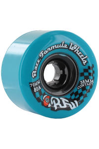 Sector 9 Race 70mm 80a Rollen 4er Pack  (blue)