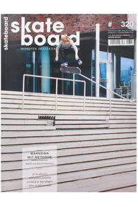 Skateboard MSM Monster Skateboard Magazin # 320 2013