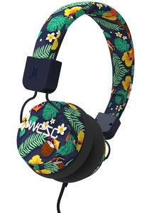 WeSC Piston Floral Headphones (black)