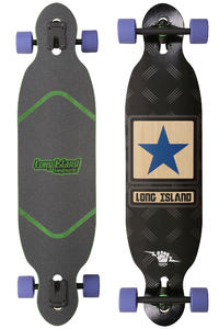 Long Island Army Star 39.37&quot; (100cm) Komplett-Longboard