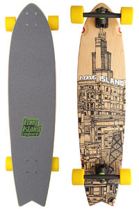Long Island City Building 37.2&quot; (94,5cm) Komplett-Longboard