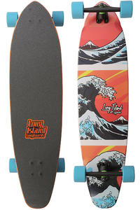 Long Island Wave 37.75&quot; (95,9cm) Komplett-Longboard