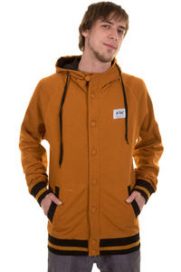 Trap Skateboards Button SP13 Jacke (sudan brown)