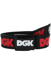 DGK Skateboards Haters Scout Gürtel (black red)
