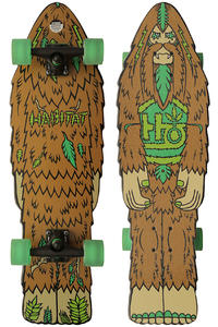 Habitat Bigfoot 9&quot; x 30.75&quot; Cruiser (brown)