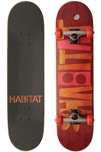 Habitat Artisan Apex 7.75&quot; Complete-Board (red)