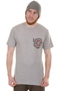 Independent TC Pocket T-Shirt (heather grey)