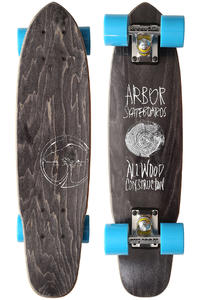 "Arbor Woody 2013 23.5"" (59,7cm) Cruiser (black)"