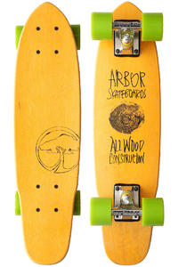 "Arbor Woody 2013 23.5"" (59,7cm) Cruiser (yellow)"