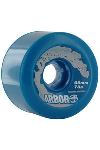 Arbor Street 65mm 78a Rollen 4er Pack  (blue)