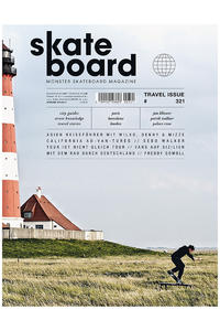 Skateboard MSM Monster Skateboard Magazin # 321 2013