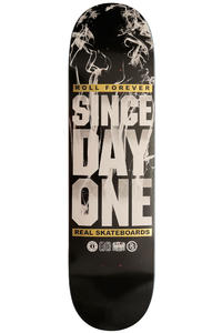 Real Since Day One Up In Smoke 8.125&quot; Deck (black)