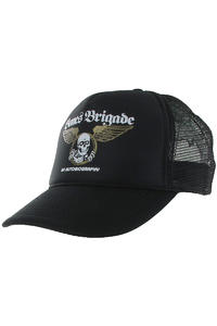 Powell Peralta Autobiography Trucker Cap (black)