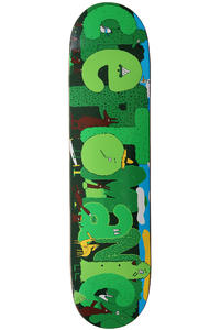 "Cleptomanicx Woods 7.5"" Deck (green)"