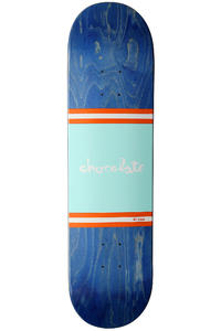 "Chocolate Johnson Team Stripe 8.125"" Deck (blue)"