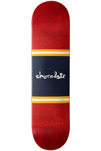 "Chocolate Brenes Team Stripe 8"" Deck (red)"