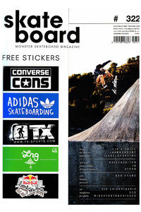 Skateboard MSM Monster Skateboard Magazin # 322 2013