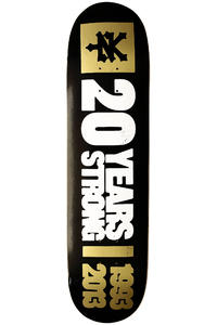 "Zoo York 20 Years Strong 8"" Deck (black)"