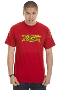 Anti Hero Spray Eagle T-Shirt (cardinal red)