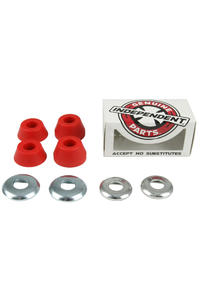 Independent 92A Low Soft Bushings 2er Pack inkl. Washer  (red)