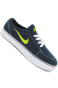 Nike SB Satire Canvas Schuh (obsidian venom green white black)