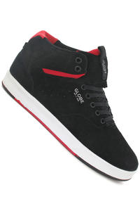 Globe Motley Solace Suede Schuh (black red)