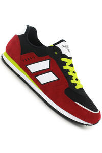 Macbeth Fischer Suede Schuh (muted red black neon)