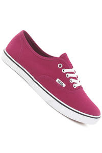 Vans Authentic Lo Pro Shoe women (sangria true white)