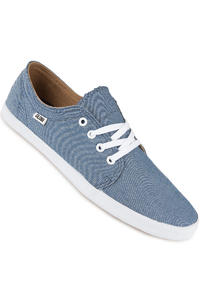 Globe Red Belly Schuh (blue chambray)