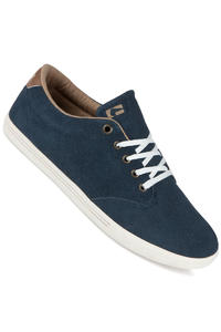 Globe Lighthouse Slim Suede Schuh (navy tan)