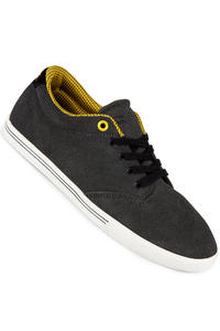 Globe Lighthouse Slim Suede Schuh (charcoal black yellow)