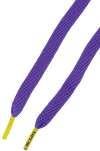 Mr. Lacy Flatties Laces (violet yellow)
