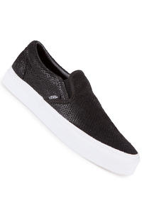 Vans Classic Slip-On Shoe women (pebble snake black)
