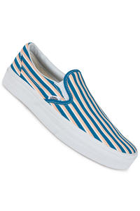 Vans Classic Slip-On Shoe women (multi stripes teal peach nectar)
