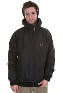 Cleptomanicx Burner Night Camou Jacke (black)