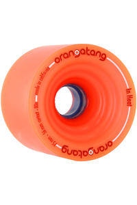 Orangatang In Heat 75mm 80A Rollen 4er Pack  (orange)
