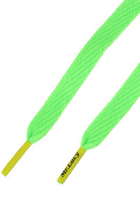 Mr. Lacy Flatties Laces (neon green neon yellow)