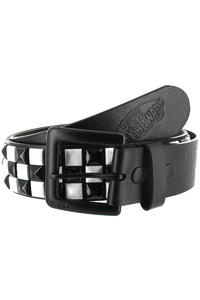 Vans Studded Leather Belt (black white)